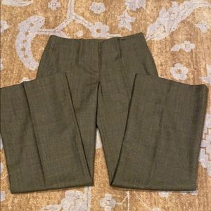 Chloe plaid trousers 100% wool size FR40/US8
